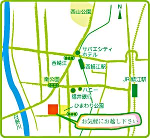 ムラケンへの地図