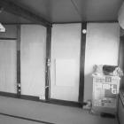 施工前。八帖和室の後方に一尺幅の板の間がありました。