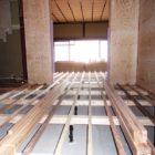 床材の取付